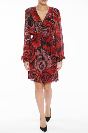 Dress with rose motif od Just Cavalli