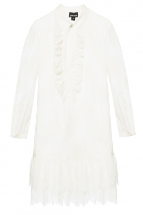 Openwork dress with ruffle od Just Cavalli