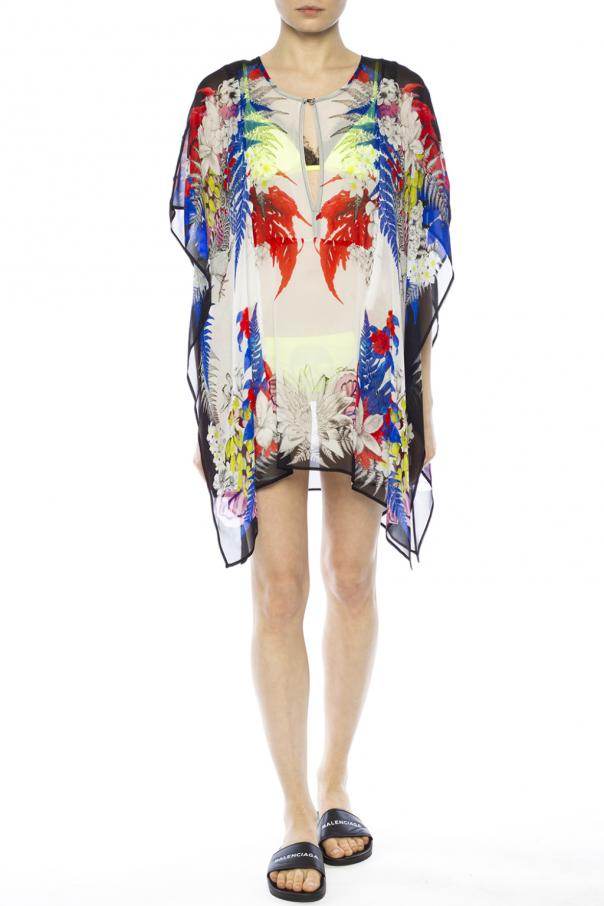 Patterned sheer top od Just Cavalli