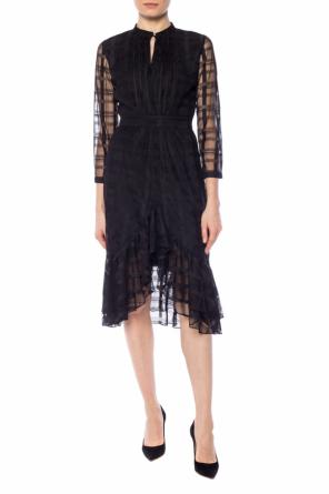 Dress with sheer sleeves od Just Cavalli