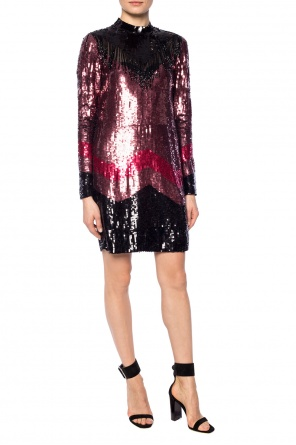 Band collar sequin dress od Just Cavalli