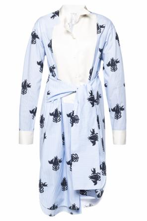 Patterned dress od Loewe