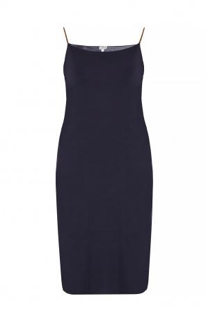 23f99c1cdb10bf ... Silk dress on straps od Loewe
