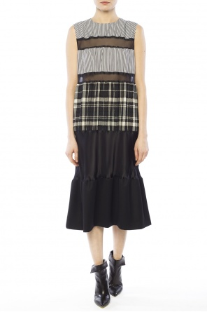 Dress with sheer inserts od Maison Margiela