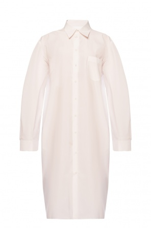 Shirt dress with wide sleeves od Maison Margiela