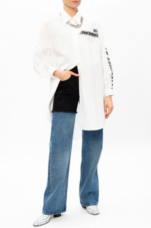 衬衫款式连衣裙 od MM6 Maison Margiela