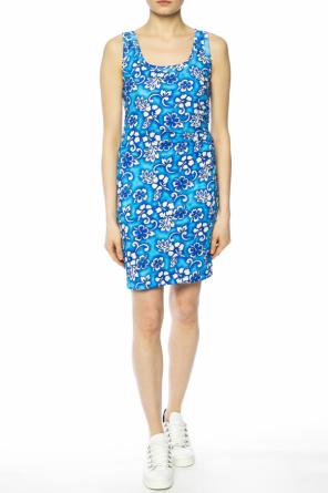 Floral motif dress od Dsquared2
