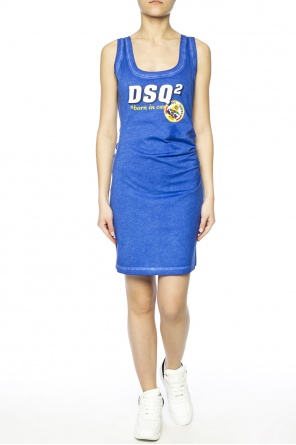 Gathered dress od Dsquared2