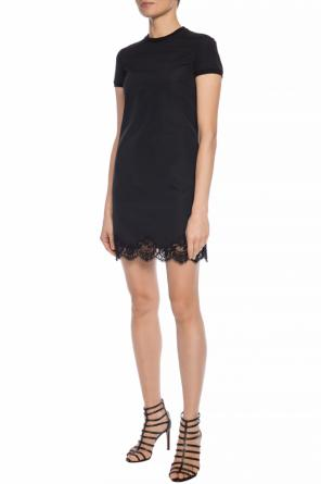 Dress with lace inserts od Dsquared2