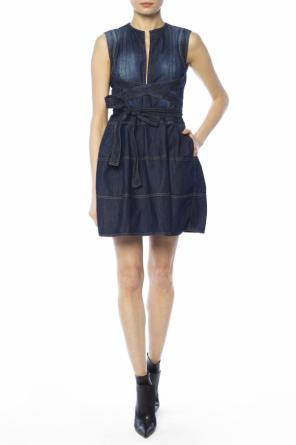 Flared denim dress od Dsquared2