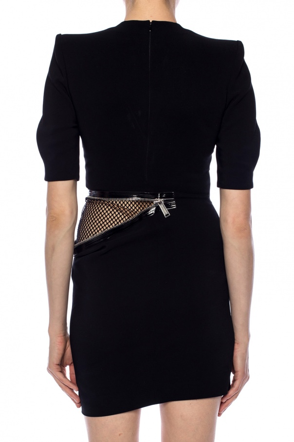 Decorative zipper dress od Dsquared2