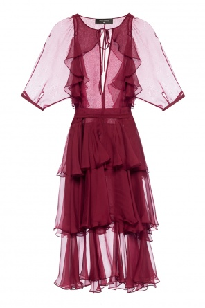 Ruffled dress od Dsquared2