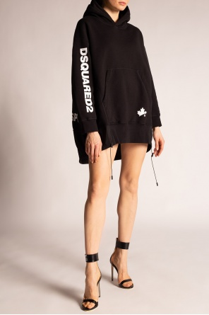 Hooded dress od Dsquared2