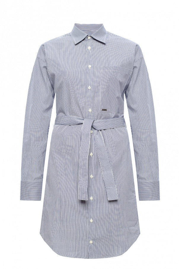Dsquared2 Patterned shirt dress