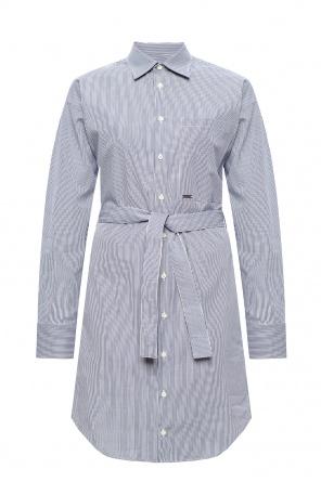 Patterned shirt dress od Dsquared2