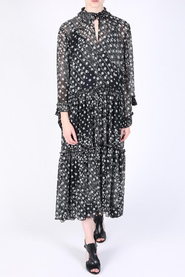 patterned sheer oversize dress see by chloe vitkac shop. Black Bedroom Furniture Sets. Home Design Ideas