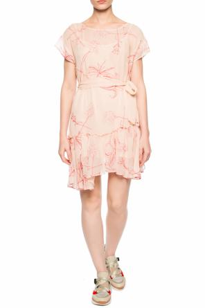 'sara verity' ruffled dress od AllSaints