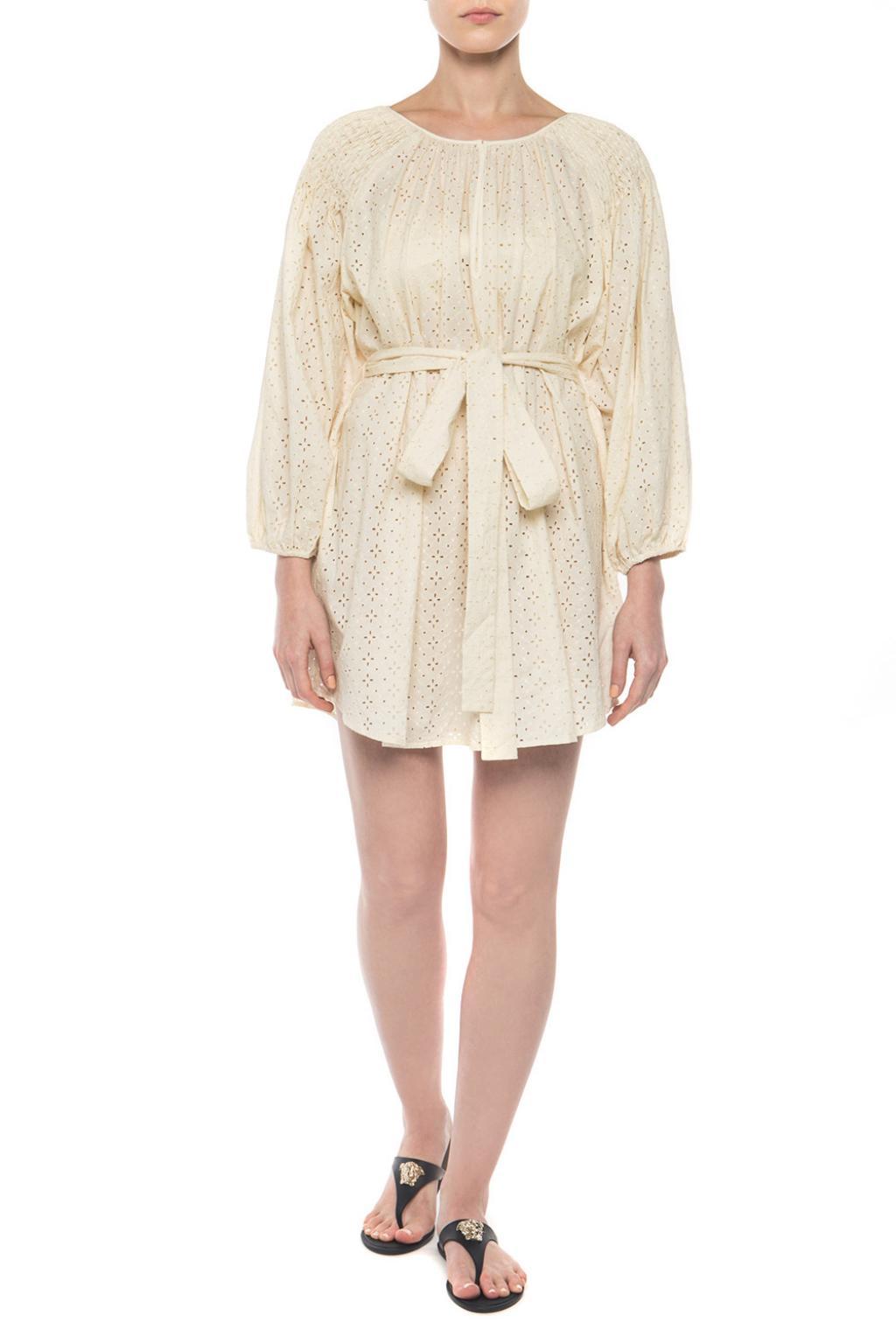 Marysia Perforated dress