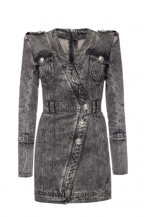 Denim dress od Balmain