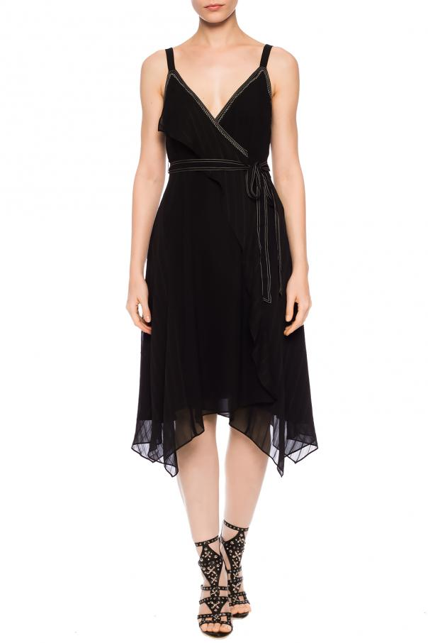 'sienna' ruffled dress od AllSaints