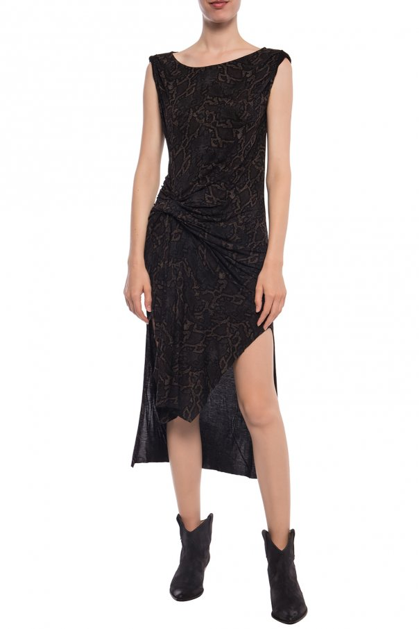 'snakecharm' asymmetrical dress od AllSaints