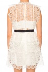 Sleeveless openwork dress od Self Portrait