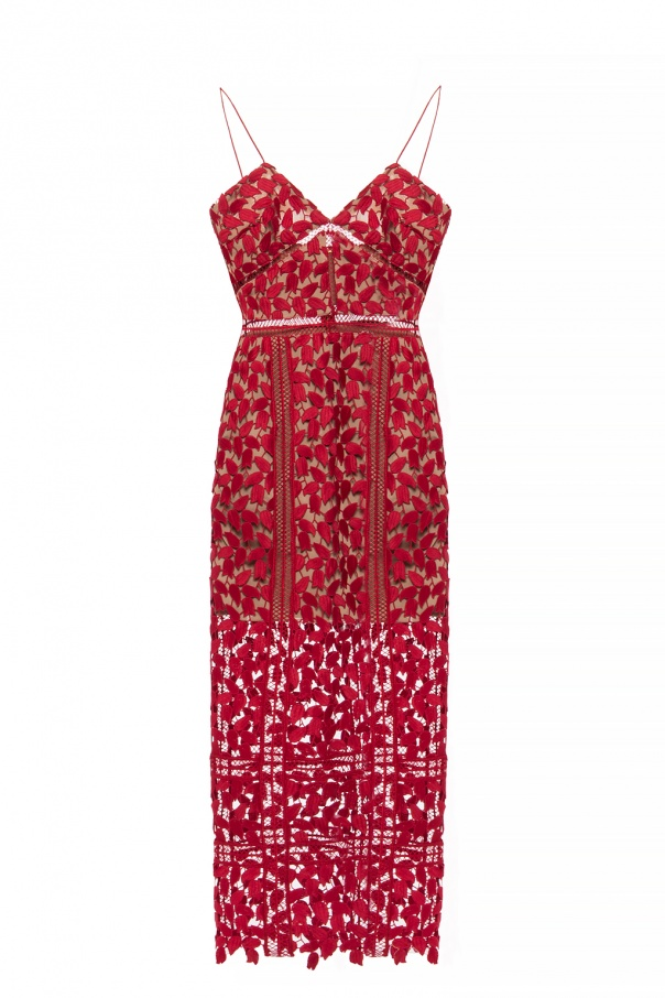 56c28885ec73 Strappy lace dress Self Portrait - Vitkac shop online