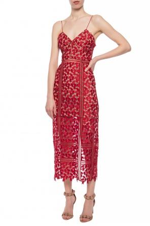 2aa3555e76c Strappy lace dress od Self Portrait ...