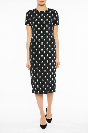 Geometric pattern dress od Diane Von Furstenberg