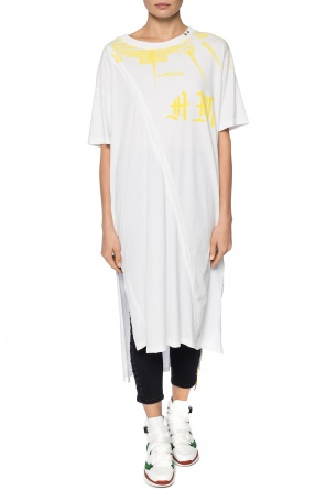 Printed oversize t-shirt od Diesel