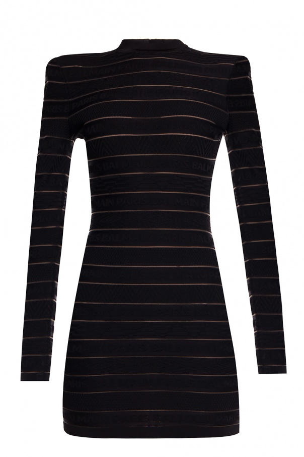Balmain Logo dress