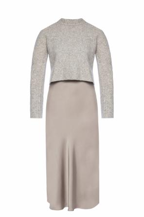 'tierny' dress & sweater set od AllSaints