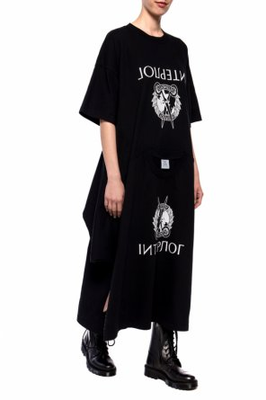 T-shirt motif dress od Vetements