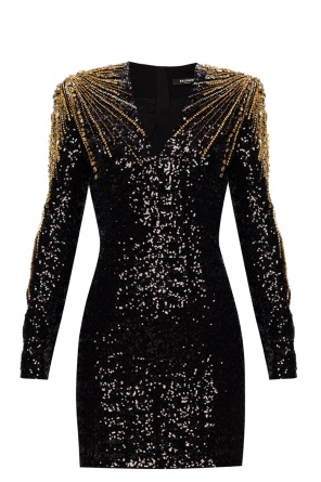Sequin dress od Balmain