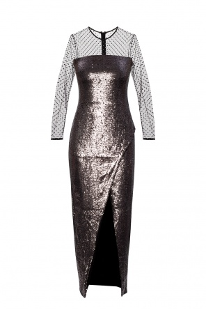 Sequinned dress od Balmain