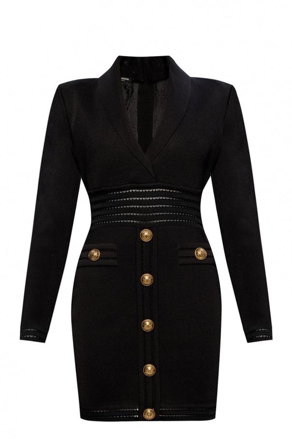 Balmain Dress with decorative buttons