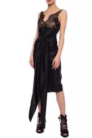 Lace trim dress od Unravel Project