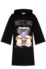 Moschino Printed sweatshirt dress