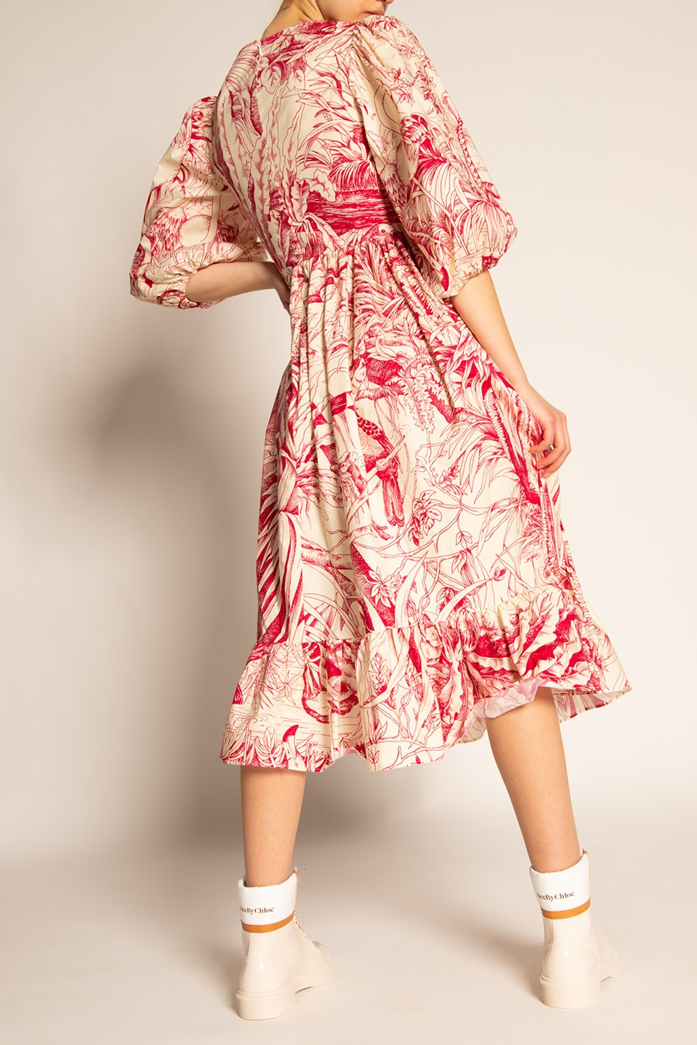 Red Valentino Long sleeve dress