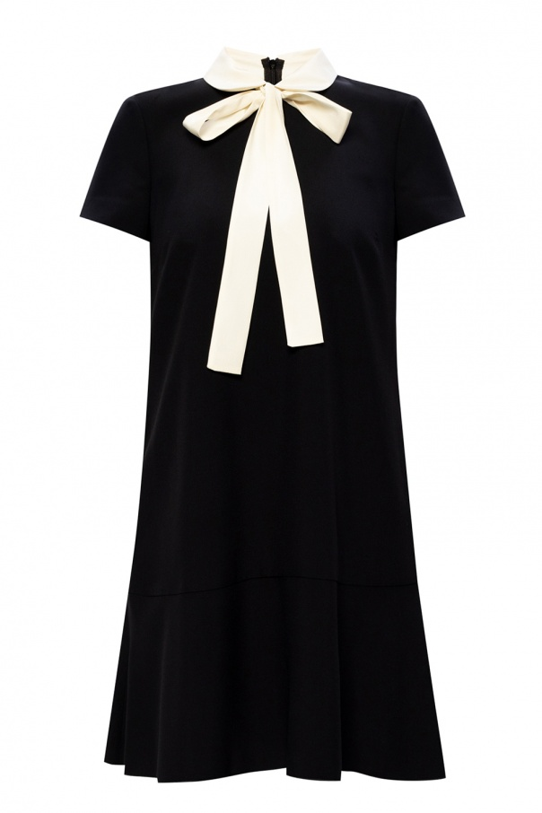 Red Valentino Dress with collar