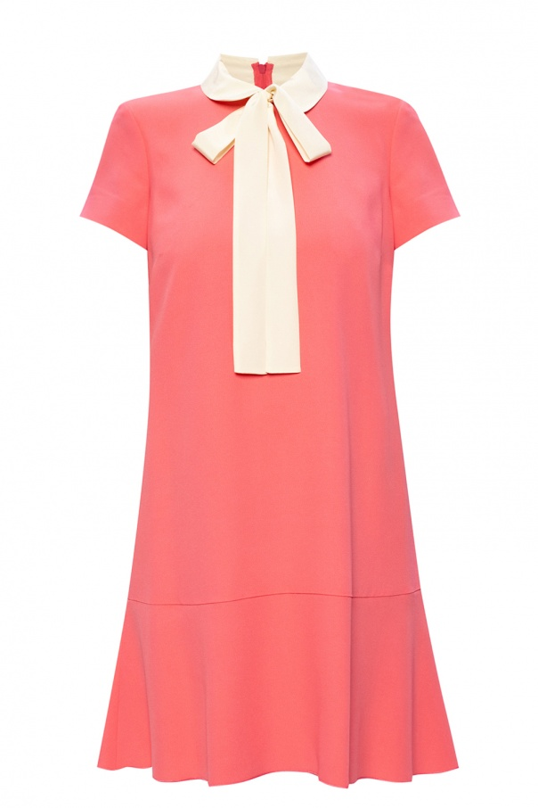 Red Valentino Self-tie dress