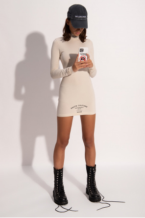 Dress with standing collar od VETEMENTS