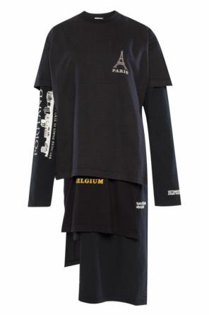Layered dress od Vetements