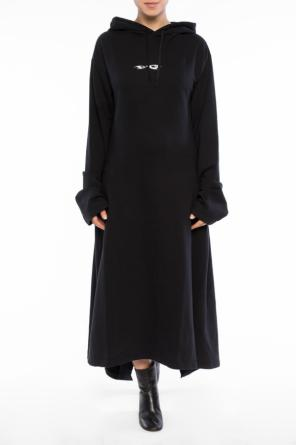 Asymmetrical dress od Vetements