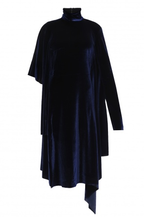 Cut-out velvet dress od Vetements
