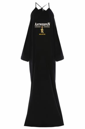 Bare-shoulder oversize dress od Vetements