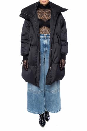 Dress with gloves od Vetements