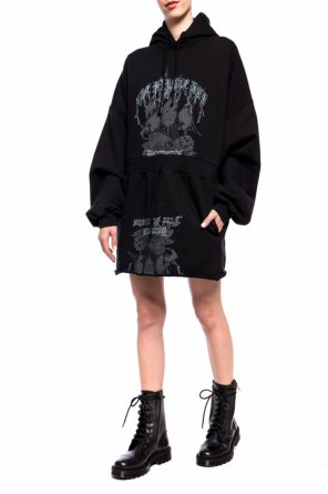 Hooded dress od Vetements