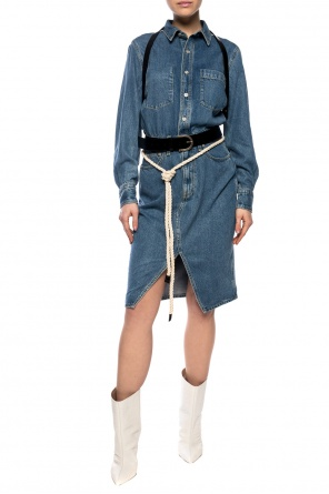 Denim dress with collar od Rag & Bone