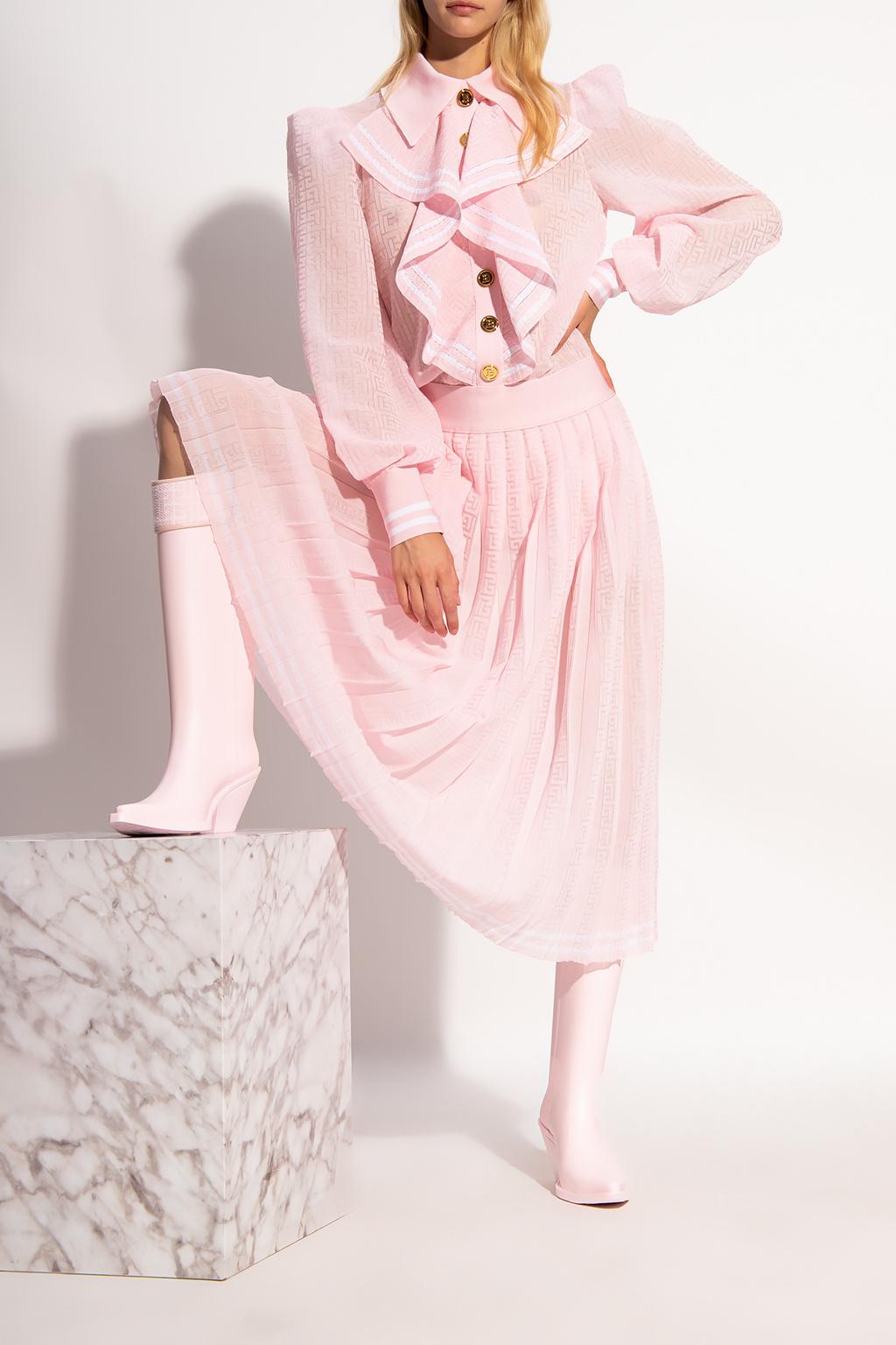 Balmain 罗纹连衣裙
